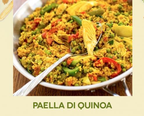 paella di quinoa Farmanatura