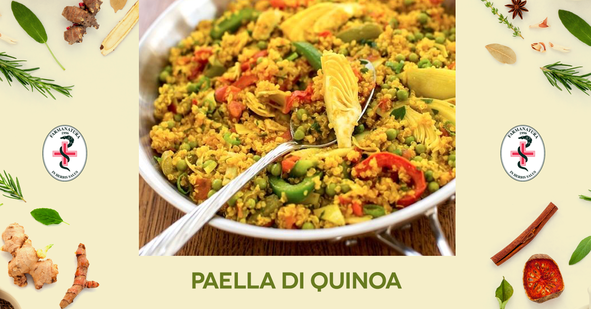 paella di quinoa Farmanatura