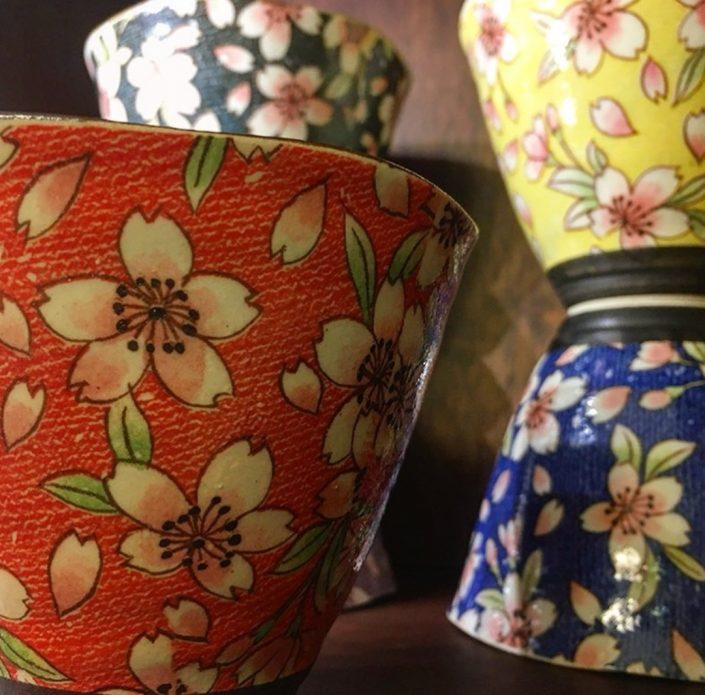 Servizio da tè in porcellana