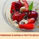 porridge di avena con frutta secca Farmanatura