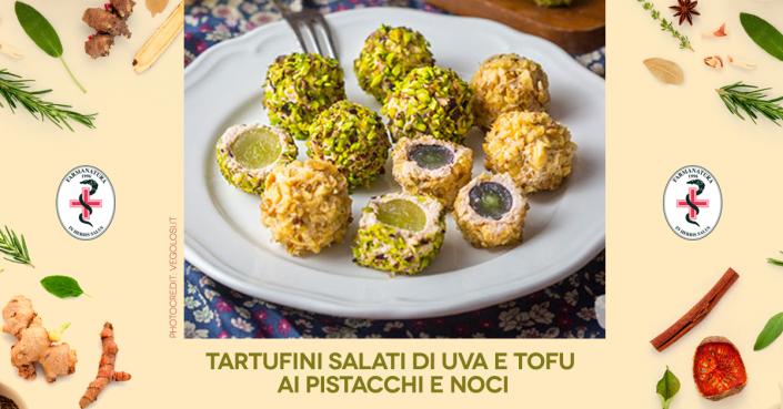 tartufini_salati ricetta vegana