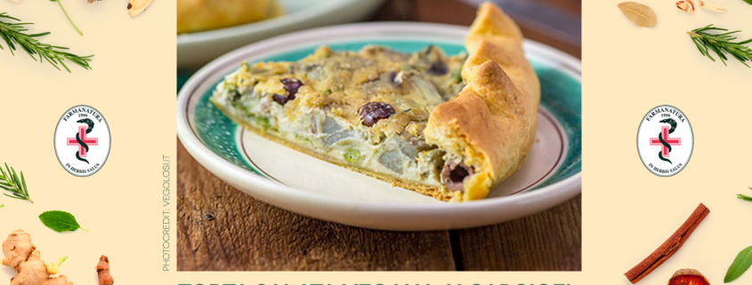 Torta salata vegana - Farmanatura